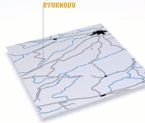 3d view of Ryukhovo