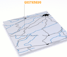 3d view of Gostenevo