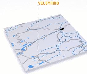 3d view of Yeleykino