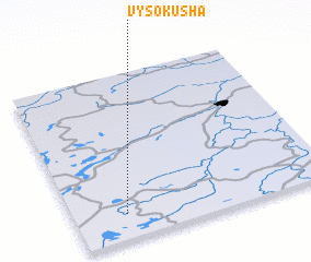 3d view of Vysokusha