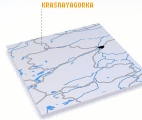3d view of Krasnaya Gorka