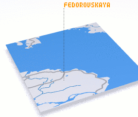 3d view of Fëdorovskaya