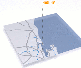 Maxixe Mozambique map nonanet