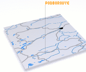 3d view of Podborov\