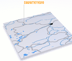 3d view of Savateyevo