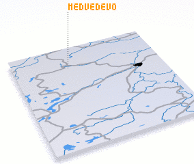 3d view of Medvedevo