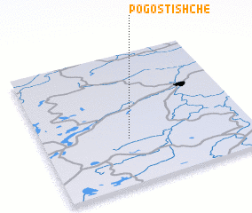 3d view of Pogostishche