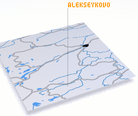 3d view of Alekseykovo