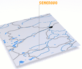 3d view of Semënovo