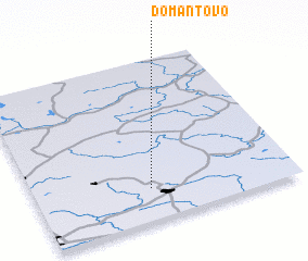 3d view of Domantovo