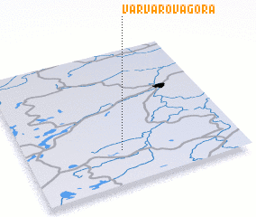 3d view of Varvarova-Gora
