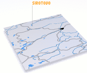 3d view of Sirotovo