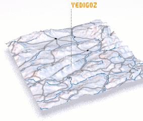 3d view of Yedigöz