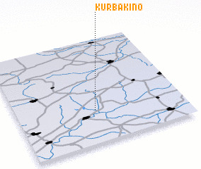 3d view of Kurbakino