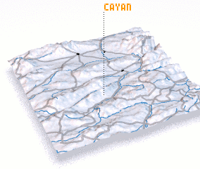 3d view of Çayan