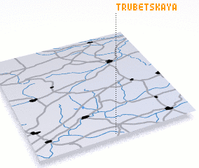 3d view of Trubetskaya