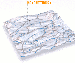 3d view of Hayrettinköy