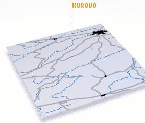 3d view of Kurovo
