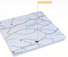 3d view of Kuzovino