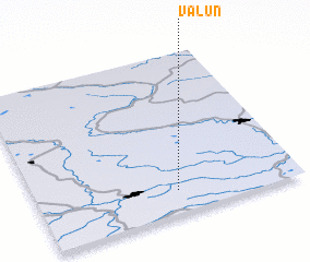 3d view of Valun\