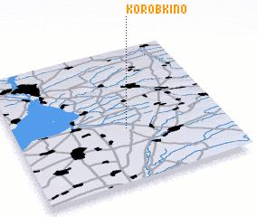 3d view of Korobkino