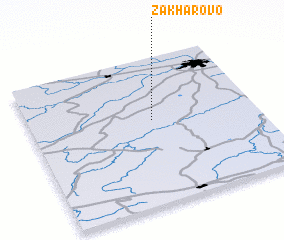 3d view of Zakharovo