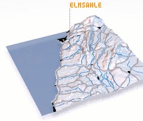 3d view of El Msahlé