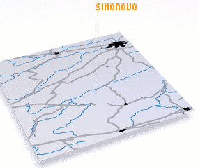 3d view of Simonovo
