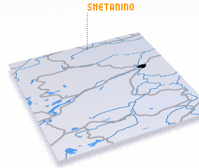 3d view of Smetanino