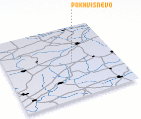 3d view of Pokhvisnevo