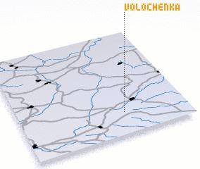3d view of Volochën\