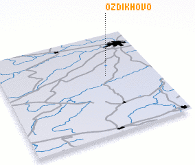3d view of Ozdikhovo
