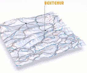 3d view of Bektemür