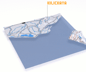 3d view of Kılıçkaya