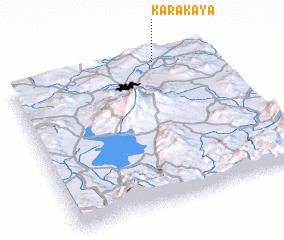 3d view of Karakaya