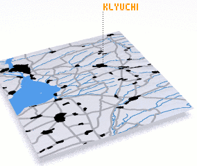 3d view of Klyuchi
