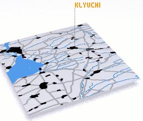 3d view of Klyuchi