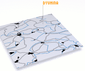 3d view of Dyumina