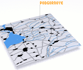 3d view of Podgornoye
