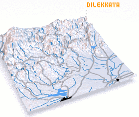 3d view of Dilekkaya