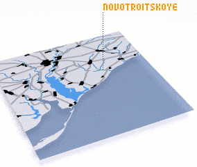 3d view of Novo-Troitskoye