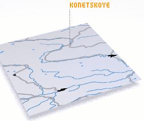 3d view of Konetskoye