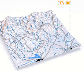 3d view of Ceyhan