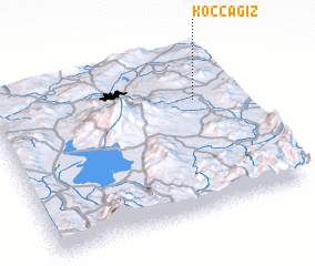 3d view of Koçcağız