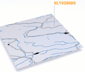 3d view of Klyushovo