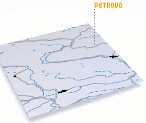 3d view of Petrovo