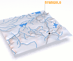 3d view of Nyangolo