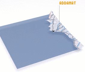 3d view of Ad Dāmāt