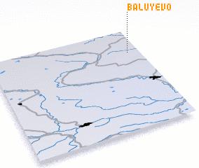 3d view of Baluyevo