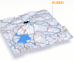 3d view of Elbaşı